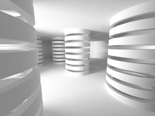 White Building Construction Architecture Background