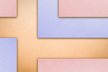 Material design wallpaper. Real paper texture. Delicate pastel shades