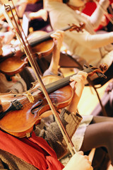 Rehearsal Symphony orchestra