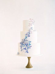 Three tier wedding cake, still ife