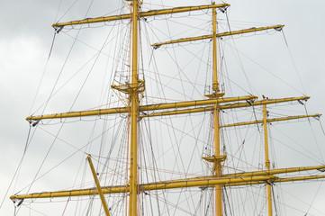 the ships mast