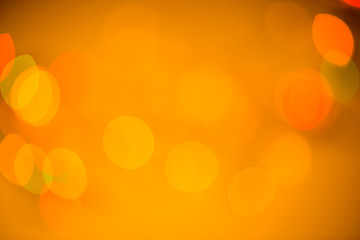 Colorful beautiful blurred bokeh background with copy space.