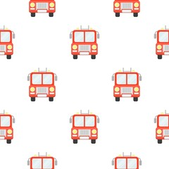Fire truck icon cartoon. pattern silhouette fire equipment icon from the big fire Department cartoon - stock vecto - stock vecto - stock vecto - stock vector