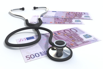 stethoscope medicine and healthcare paid services