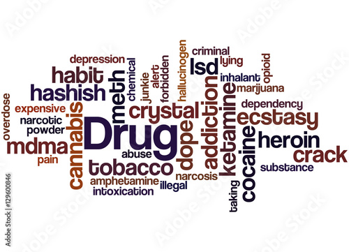 """""""Drug Names, Word Cloud Concept"""" Stock Photo And Royalty"""