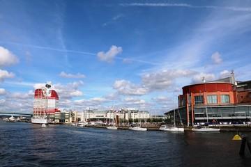 Harbor area in Gothenburg, Sweden Scandinavia