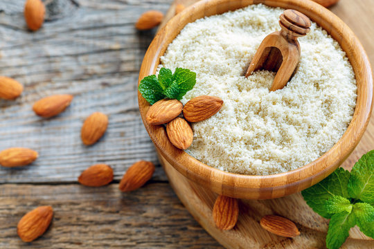 Scoop into a bowl with almond flour.