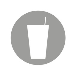 glass drink isolated icon vector illustration design