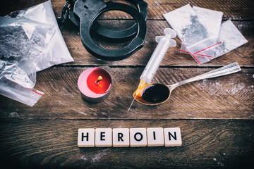 Drugs and substances prohibited - arrest criminals