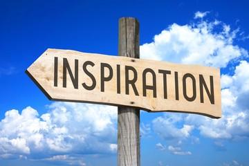 Inspiration - wooden signpost