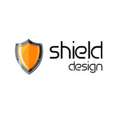 Gold shield design