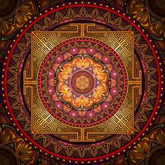 Mandala Ancestral world