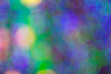 Colorful beautiful blurred bokeh background