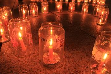 東日本大震災の追悼式(山形県)