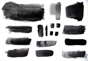 Watercolor strokes, great for use in your design.