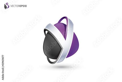 """""""Y Logo - Abstrac...Y Logo 3d"""