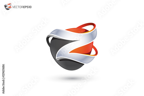 """Z Logo - Abstract Letter Z 3D Logo"""" Stock image and royalty-free ..."""