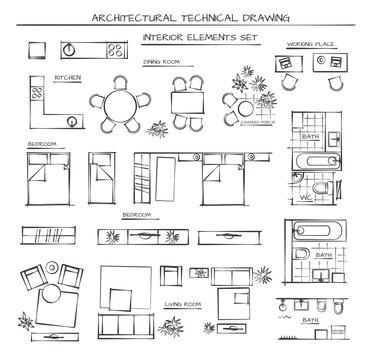 Set Of Interior Elements
