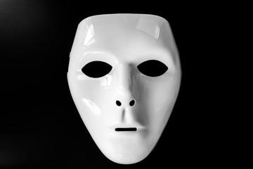 白いマスク