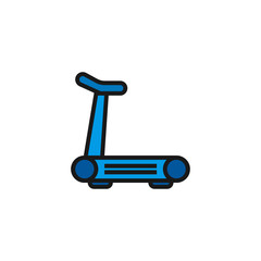 Skate Icon Illustration Isolated Vector Sing Symbol