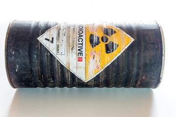 Steel container of Radioactive material