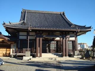 Garden Poster Temple 豊島区の本妙寺(本堂)