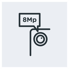 8 Megapixel icon