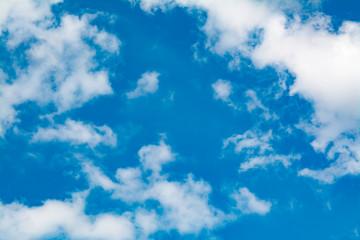 clouds. blue sky.