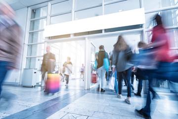 European consumer trade fair entrance