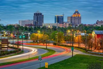 Greensboro North Carolina Wall mural