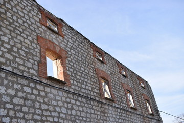 Edificios abandonados.