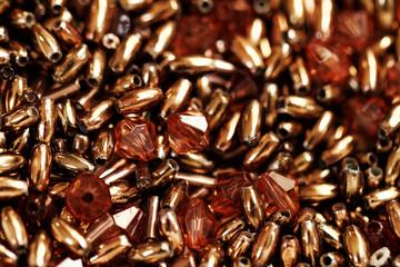 Brown beads