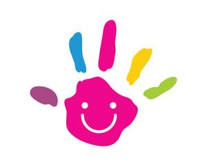 Modern Children Education Logo - Creative Palm