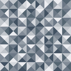 Abstract triangle seamless pattern. Vector