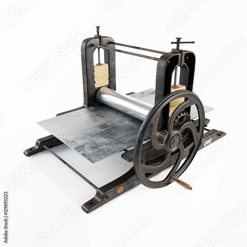 Vintage Printing Press 85