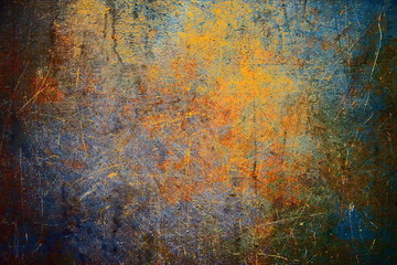 Grunge wall background, rusty texture