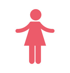 woman silhouette isolated icon vector illustration design