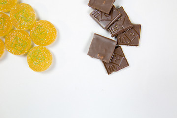 Marijuana edible chocolate