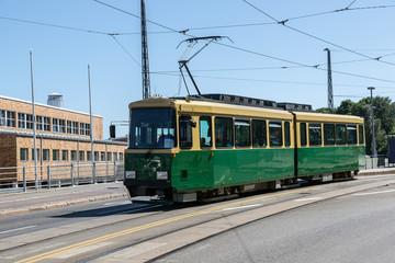 Public transport, tram in Helsinki