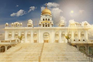 Wall Mural - Gurudwara Bangla Sahib is one of the most prominent Sikh gurdwar