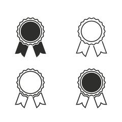 Award icon set.