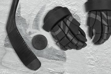 Hockey themed background