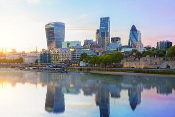 Photo sur Plexiglas Londres London skyline
