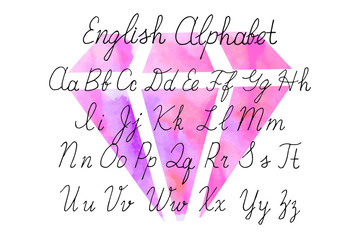 uppercase English letters