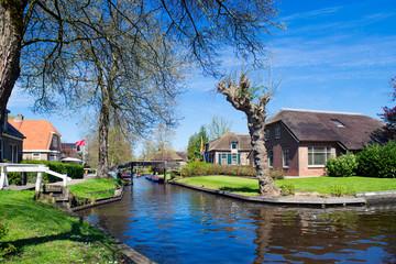 Spring in Giethoorn, the Netherlands