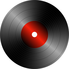 Musical red plate