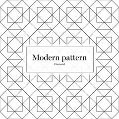 Vector Modern Patter Diamond Texture
