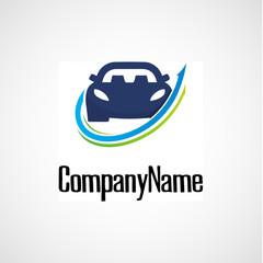 Concept automotive logo design
