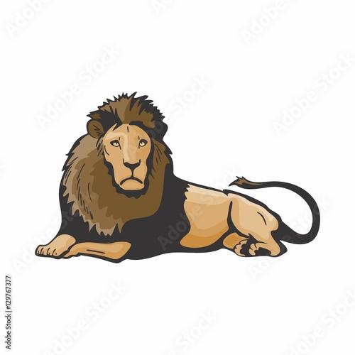 lioness vector