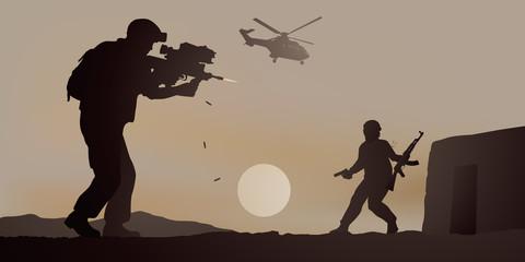 Soldat - Combat - Guerre - Militaire - Terrorisme